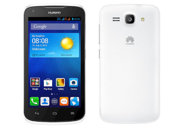 Huawei Ascend Y540 with 3G, Dual Core CPU Launched