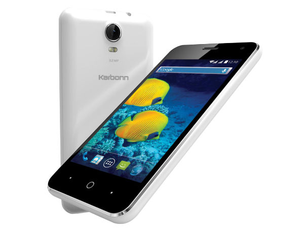 Karbonn S15 with 3G Internet Speed Launched at Rs 3,830