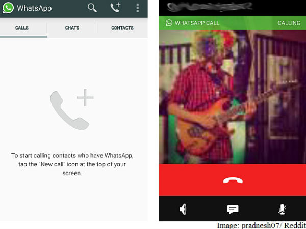WhatsApp Voice Call Feature Rolled Out For Android Users