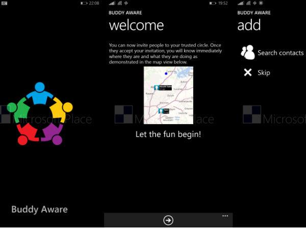 Microsoft People Sense: A Location Sharing App Under Development