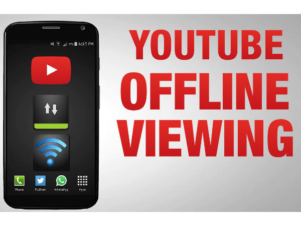 Youtube Offline Feature: