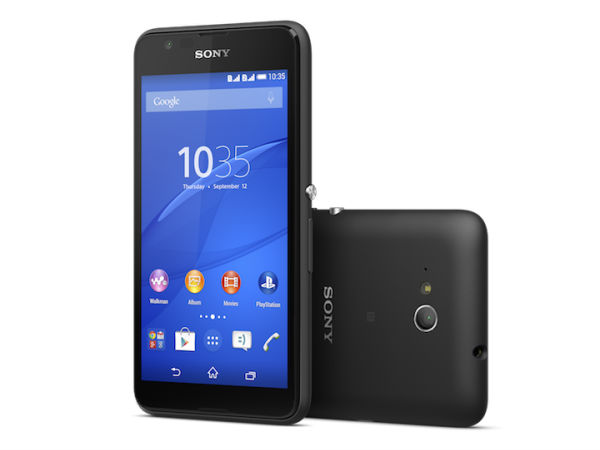 Sony Xperia E4g With 4G LTE Support, Quad-Core CPU Launched