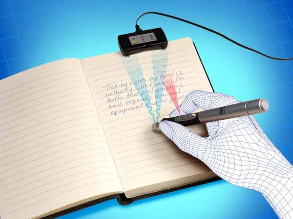 Digital Pen to Speed up Compiling Mark Sheets