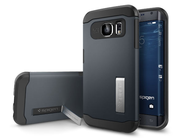 Samsung Galaxy S6 Cases Lauched By Spigen, Potrays One Curved Side
