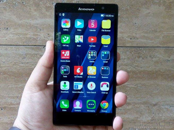 Lenovo P90 Smartphone Announced for Indian Market