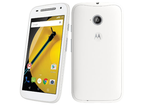 Moto E (2nd Gen) with 3G Connectivity to be Launched in India Soon