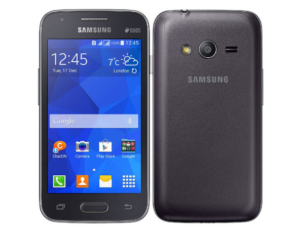 Samsung Galaxy S Duos 3-VE is Now Available For Sale at Rs 6,650