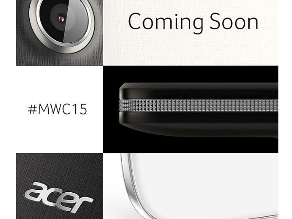 Acer Teases New Smartphones and Wearable Ahead of MWC 2015