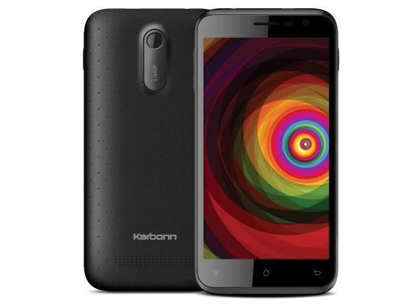 Karbonn Titanium Dazzle with 5-inch Display, Smart Eye Technology