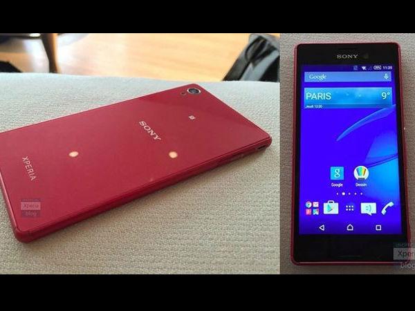 Sony Xperia M4 Aqua Leak Shows an Impressive Design