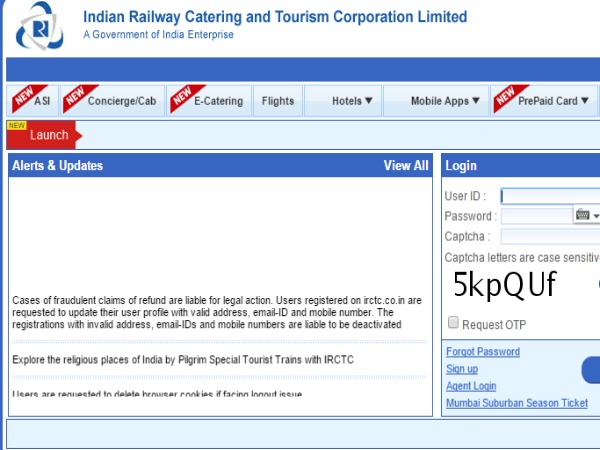 IRCTC joins hands with Amazon.in for Online Shopping