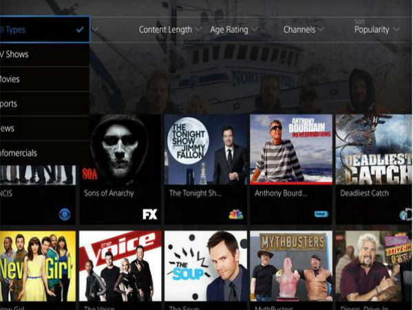 Sony PlayStation Vue: