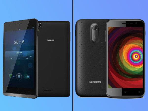 Xolo A1010 vs  Karbonn Titanium Dazzle: Battle of the Budget Phones