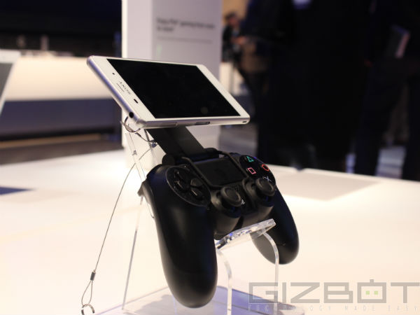 Use PS4 Remote Play.With Sony Smartphones