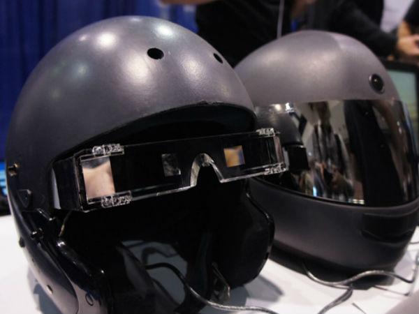 Google Glass-like Motorcycle Helmet to Hit Stands Soon