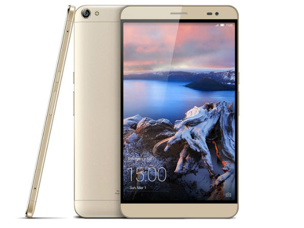 MWC 2015: Huawei MediaPad X2 with Ultra Octa-Core Chip Unveiled