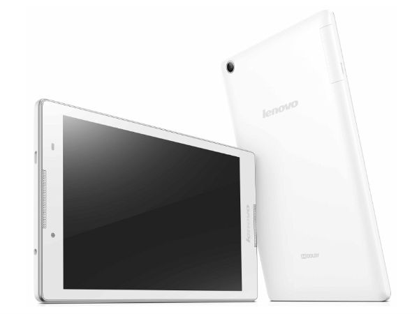 Lenovo Tab 2 A8 with 8-inch Display, 4G Connectivity Announced