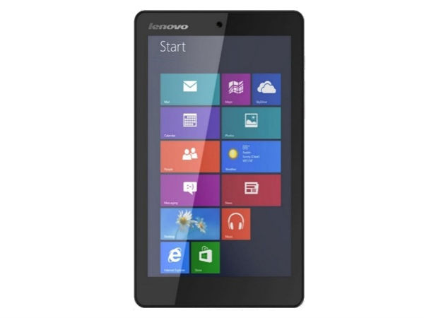 Lenovo ideapad MIIX 300 Tablet with Windows 8.1 Launched