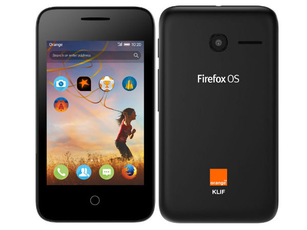 Alcatel OneTouch Orange Klif with Firefox OS Launched