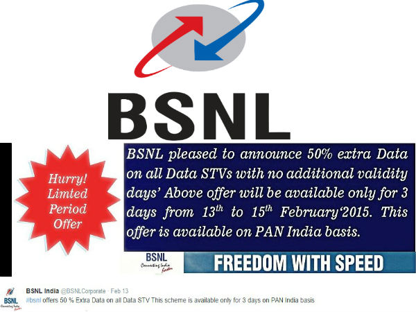 BSNL to Slash 3G Internet Rates by 50%