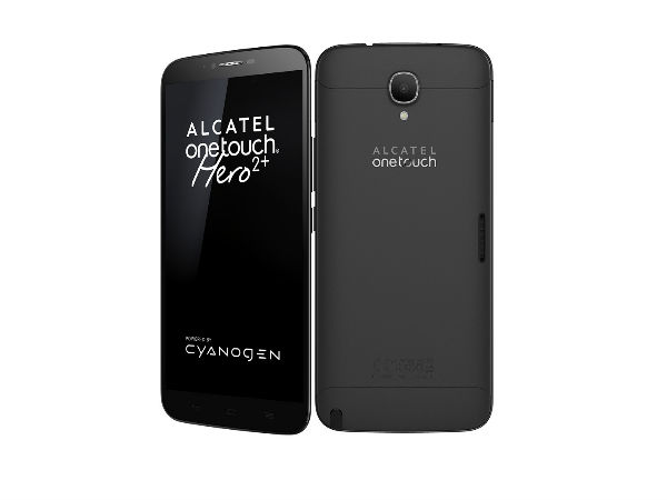 Alcatel OneTouch Hero 2+ with Cyanogen OS, 2GB RAM Announced