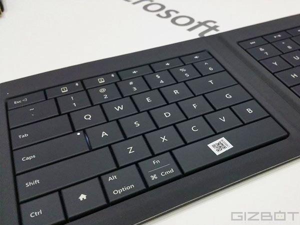 MWC 2015: Microsoft unveils Universal Foldable Keyboard