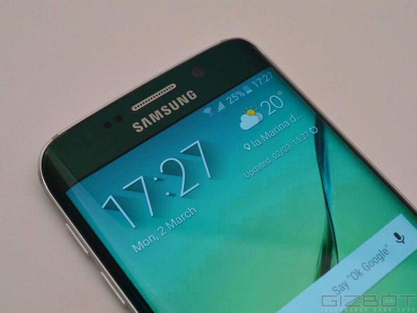 Samsung Galaxy S6 Edge First Look