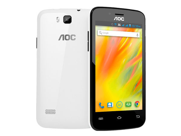 AOC Officially Launches Smartphone and Tablets in India