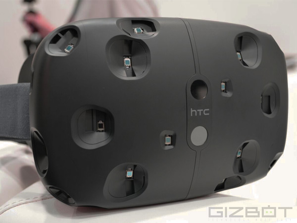 HTC Vive viewing experience