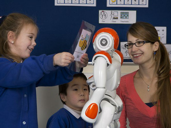 New Robot as Teaching Aid