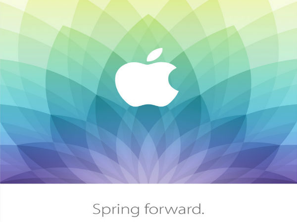 Apple's 'Spring Forward' Event: What To Expect