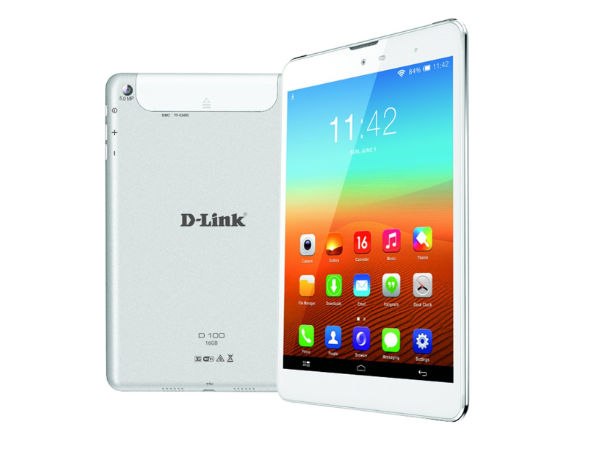 D-Link D100 Tablet Silently Launched in India for Rs 13,550