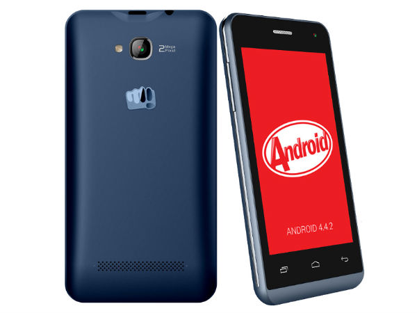 Micromax Bolt Q324 with 3G, Android 4.4 Launched at Rs 3,990
