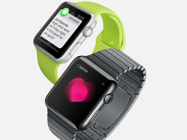 Apple Watch includes Messaging, Calls, Health Apps