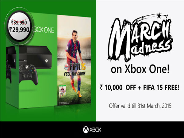 Microsoft Xbox One Price Drops to Rs 29,990 For Limited Period