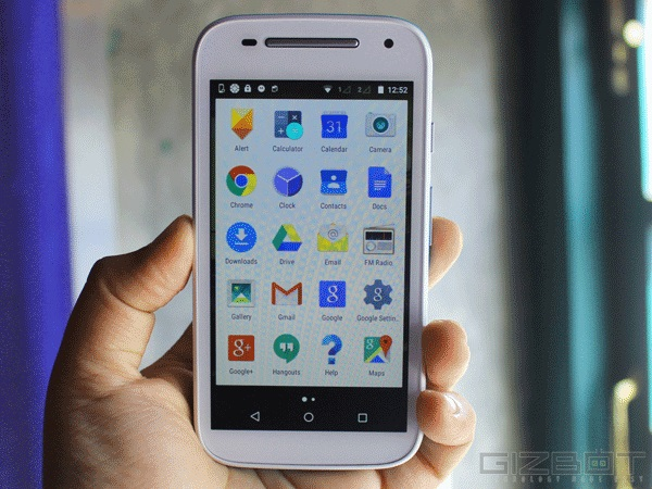 Motorola Moto E (Gen 2) First Look