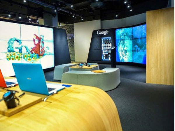 Google Opens it's First Google Branded Store in London