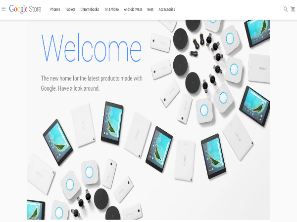 Google Opens a new Online Store To Sell Nexus Devices and Chromebooks