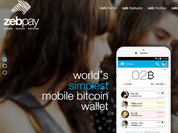 Zebpay launches Bitcoin Mobile Wallet in India