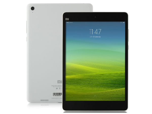 Xiaomi MiPad Launched at a Price of Rs 12,999; Sales from  March 24