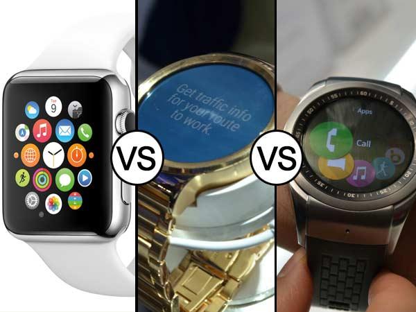 Apple Watch Vs Huawei Watch Vs LG Watch Urbane LTE