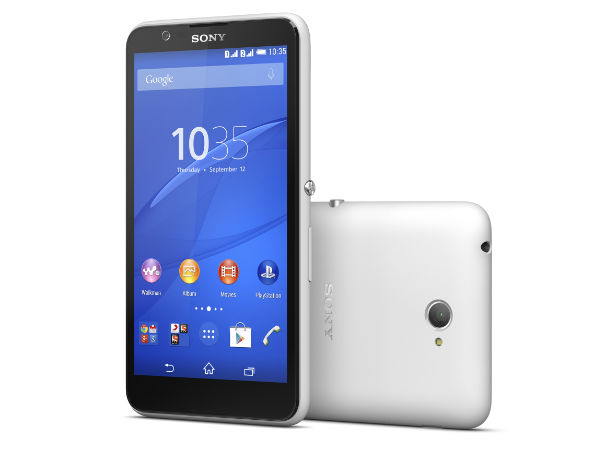 Sony Just Launched Xperia E4 in the Indian Market