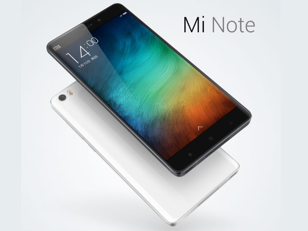 Xiaomi Mi Note Special Edition is All Set For Launch