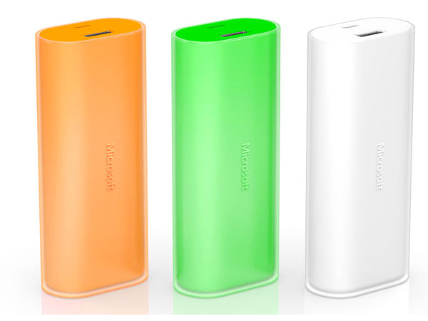 Microsoft Launches DC-21 6000mAh Power Bank in India at Rs 3,499