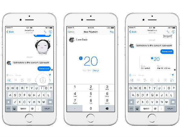 Soon, You'll Be Able To Send Money Through Facebook Messenger
