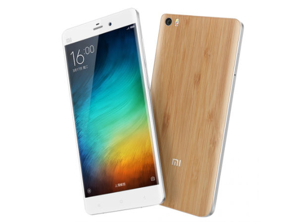 Xiaomi Mi Note Limited Edition Launched With Bamboo Back Panel