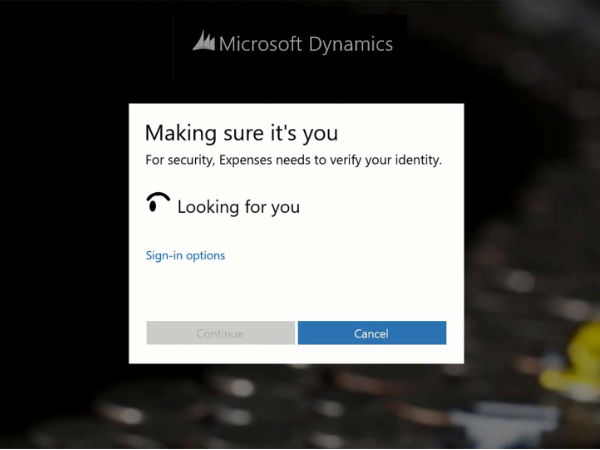 Moving on, Windows 10 Login Will Be Possible With Biometric Options