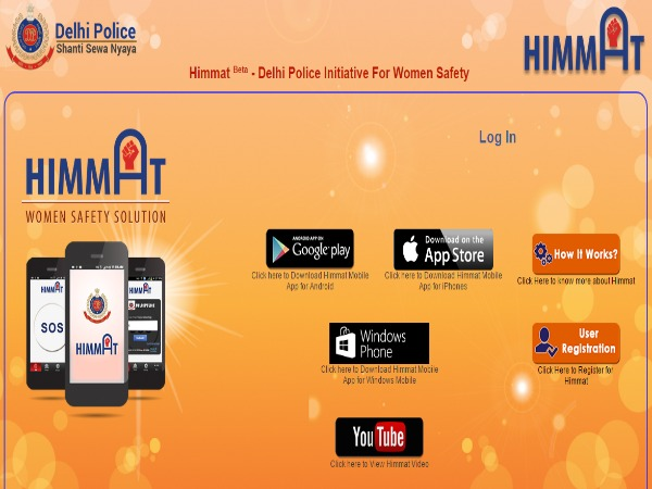 Delhi Police's women safety app 'Himmat' now for iPhone users