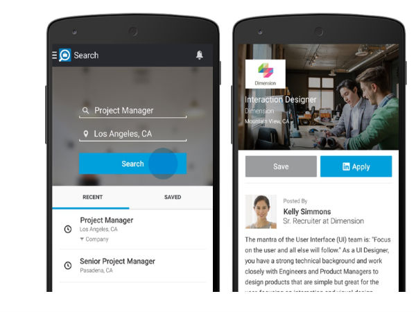 LinkedIn Launches Android Job Search App