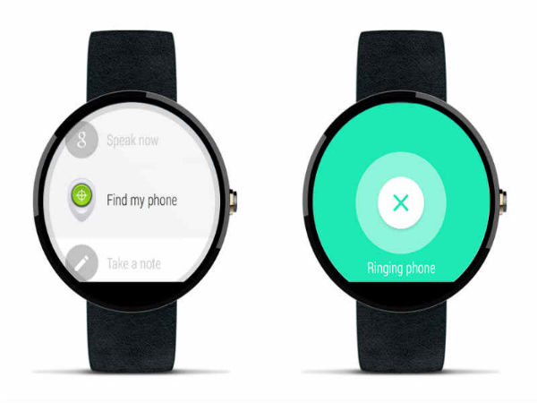 Lost Your Phone, Dont Worry Android Wear Will Find It For You